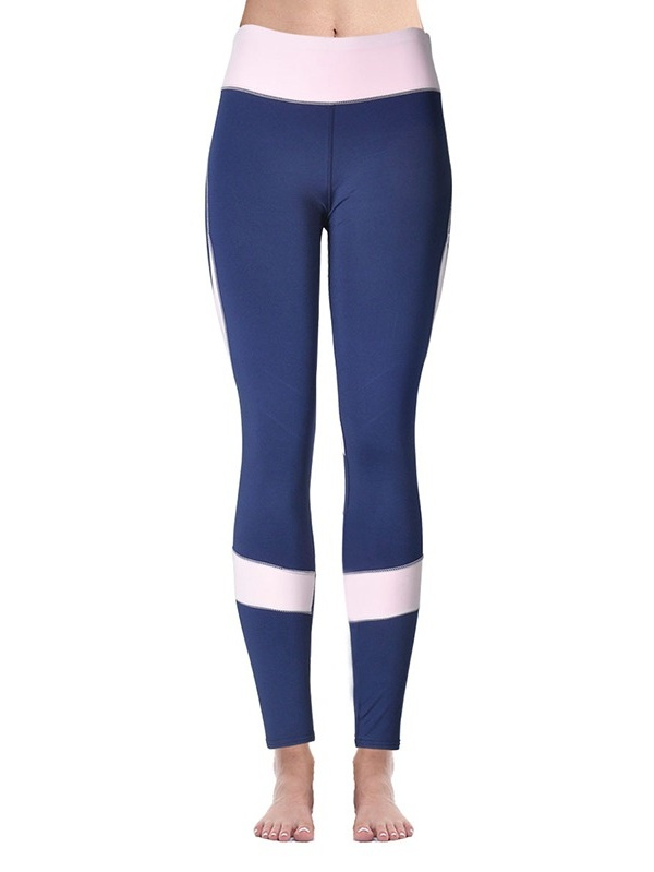 Women Yoga Gym Elastic Trousers Slim High Waist Pant Skinny Leggings Trousers
