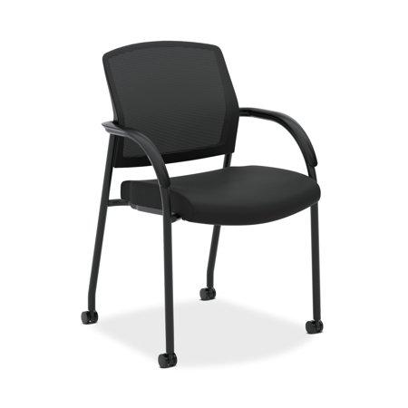HON Lota Stacking Multi-Purpose Side Chair, in Black (H2285)