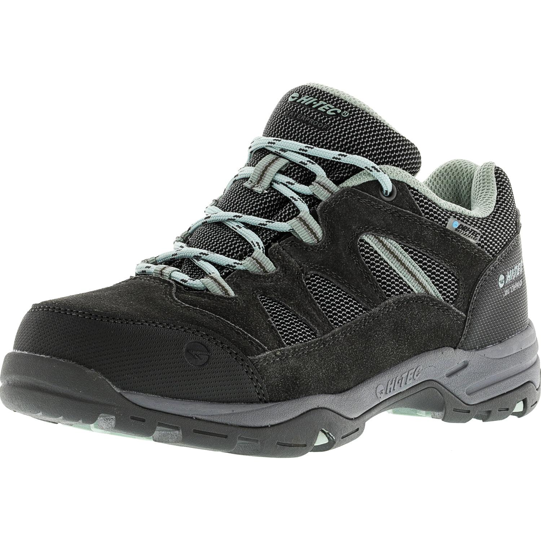 Hi-Tec Women's Bandera Mid Ii Waterproof Charcoal Grey   Purple Ankle-High Hiking Shoe 6M by Hi-Tec