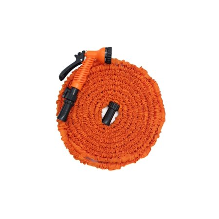 InGarden Garden Hose-Expandable Water Hose 3 Times Expanding Flexible Lightweight Magic Hose with Nozzle for Washing Car, Watering Home Garden  (50Ft Orange) (Water Hose Three Way)