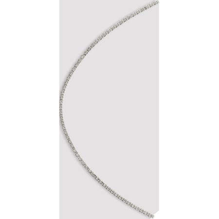 Sterling Silver 2mm Fancy Anchor Pendant Chain - image 2 of 5
