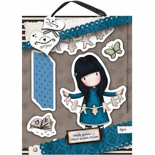 "Docrafts Gorjuss Urban Stamps, 5"" x 6.5"""