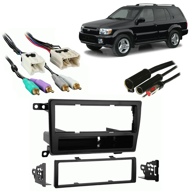 METRA 99-7403 CAR STEREO ISO-DIN RADIO INSTALL DASH KIT COMBO FOR INFINTI QX4