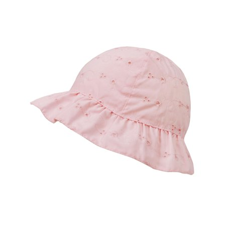 b7f247e98 SimpliKids Baby Infant Lovely Floral Embroidered Floppy Wide Brim Sun Hats  ,Pink,0-12 Months
