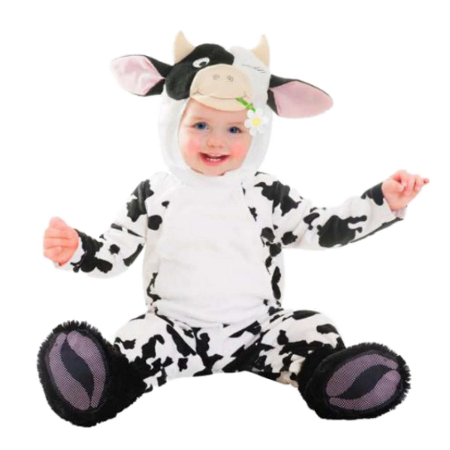 Goodmark Infant Boys u0026 Girls Cutie Cow Costume Plush Baby Cow Suit ...  sc 1 st  Walmart & Goodmark Infant Boys u0026 Girls Cutie Cow Costume Plush Baby Cow Suit 0 ...