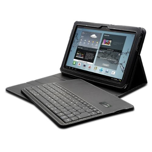 SolidTek Bluetooth Keyboard Case for Samsung Galaxy 10.1""