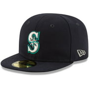 Seattle Mariners New Era Infant Authentic Collection On-Field My First 59FIFTY Fitted Hat - Navy