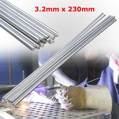 """10PCS Low Temperature TIG Aluminium Welding Rods Soldering Brazing Repair Rods 3.2x230mm(9"""")"""