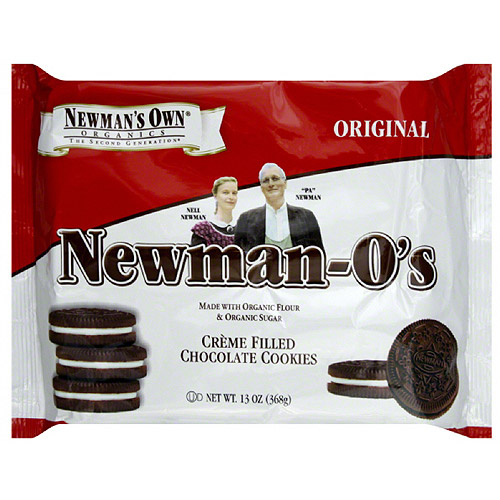 Newman's Own Organics Newman-O's Original Cookies, 13 oz (Pack of 6)