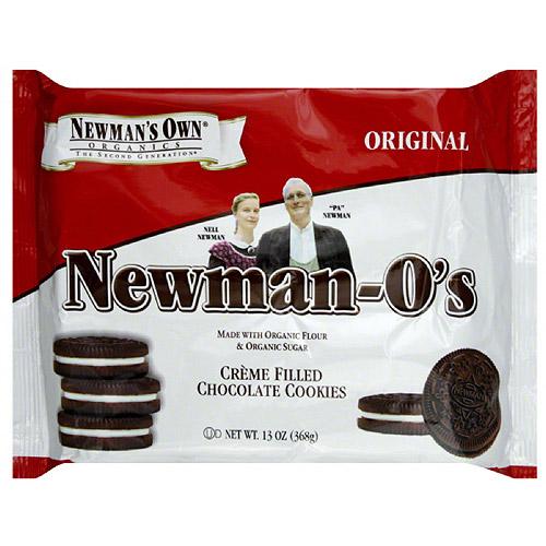Newman's Own Organics Newman-O's Original Cookies, 13 oz (Pack of 6)