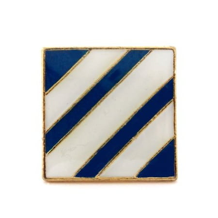 US Army 3rd Infantry Division Lapel Hat Pin Gift Military PPM655 (1 pin)