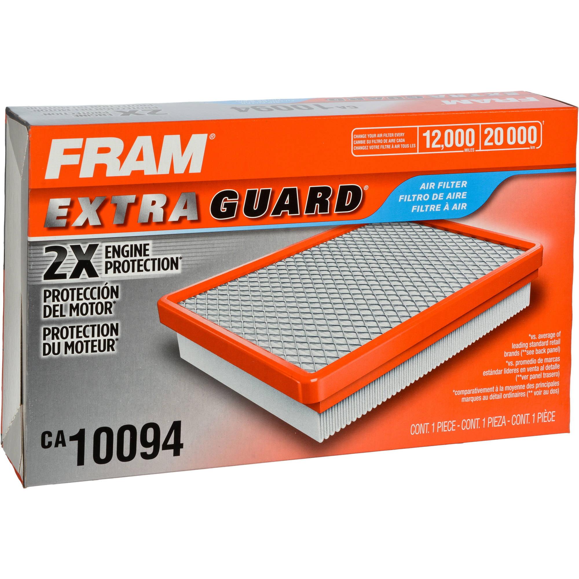 FRAM Extra Guard Air Filter, CA10094 by FRAM