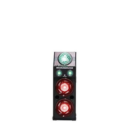 Blackmore Electronics BLS-5210BT Blackmore Amp DJ System with Lights, Black