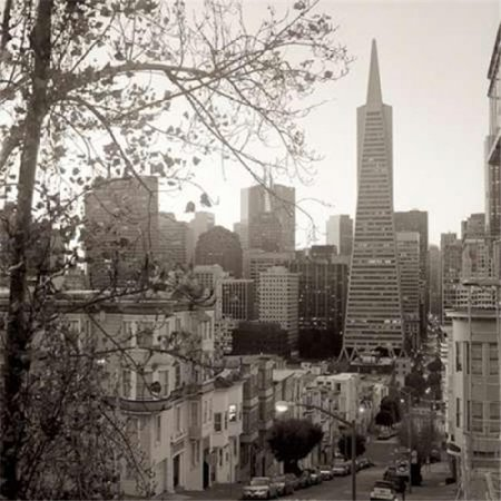 Image Conscious PDXABSF47SMALL Sf Skyline - 3 Poster Print by Alan Blaustein, 12 x 12 - Small - image 1 of 1