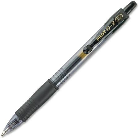 Pilot G2 Bold Point Retractable Gel Pens, 1 Dozen (Quantity) (Personalized Business Pens)