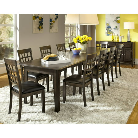 A-America Bristol Point Rectangular Extension Dining Table - Warm Gray ()