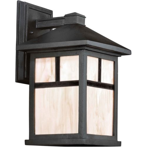 Forte Lighting 1873-01 Craftsman / Mission 1 Light Outdoor Wall Sconce from the
