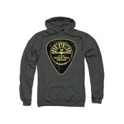 Sun Records Guitar Pick Mens Pullover Hoodie