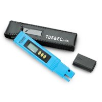 3-in-1 TDS Meter, Electrical Current & Temperature Meter - Includes Carrying Case & Instruction Sheet