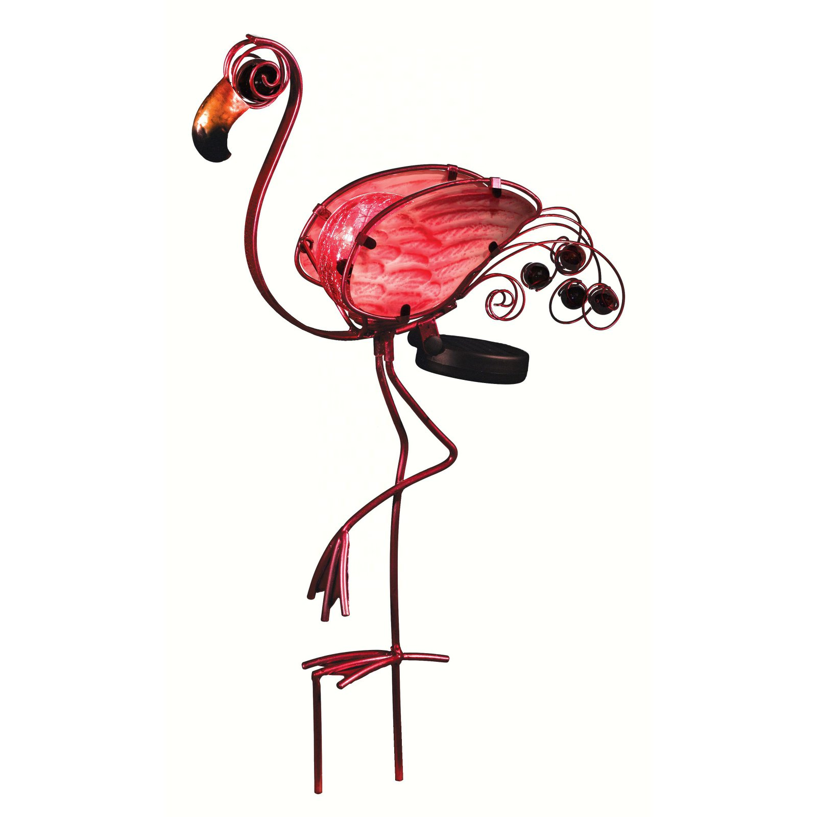 Regal Art and Gift Solar Flamingo Stake