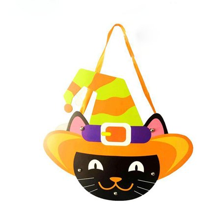 Paper Bags Halloween Crafts (Halloween Cute DIY Paper Candy Bag Package Children Party Storage Bag Of Sugar)