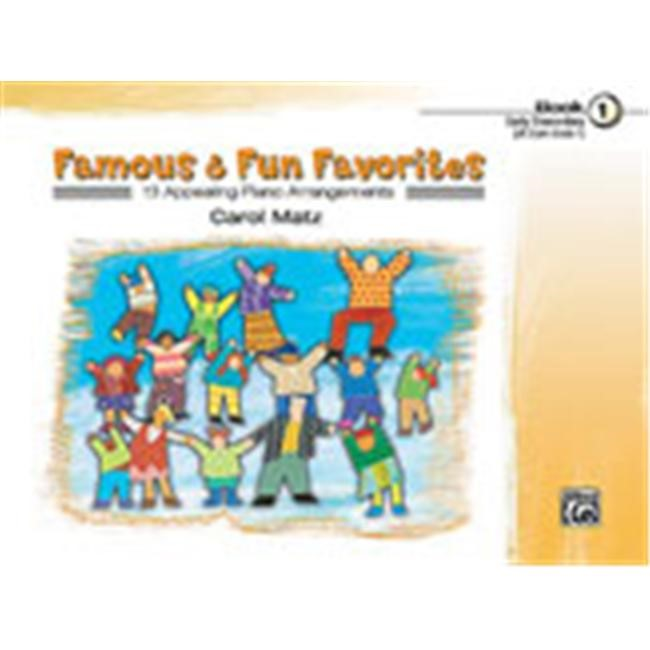 Alfred 00-21392 Famous & Fun Favorites- Book 1 - Music Book