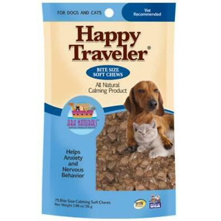 2 PK American Ark Naturals 120 Count Happy Traveler Chicken Soft (Ark Naturals Happy Traveler)