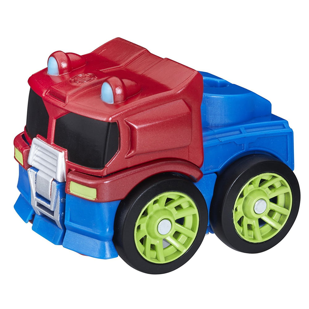 Playskool Heroes Transformers Rescue Bots Flip Racers Optimus Prime by Hasbro