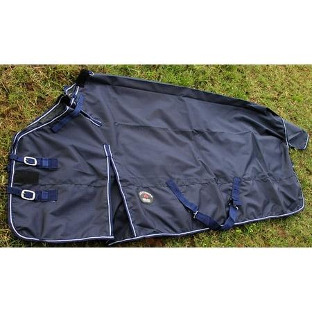 1200D Turnout Waterproof Rain Horse SHEET Light Winter Blanket Gusset 364G