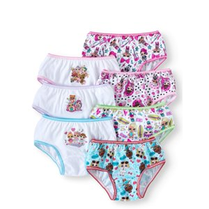 Girls Underwear, 7 Pack