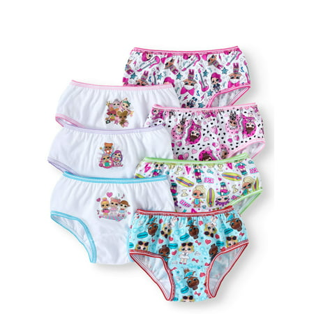 Girls' L.O.L. Surprise! 7pk Underwear - 4