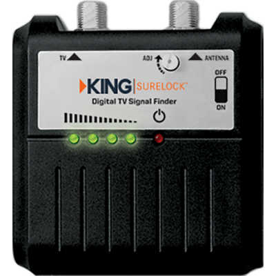 King #SL1000 SureLock TV Antenna Signal Finder
