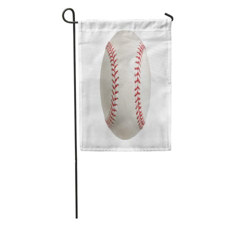 JSDART Photography Baseball White Clipping Path Sports Ball Color Nobody Single Garden Flag Decorative Flag House Banner 12x18 inch - image 2 of 2