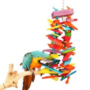 Bonka Bird Toys 1048 Huge Cluster Chew Bird Toy.