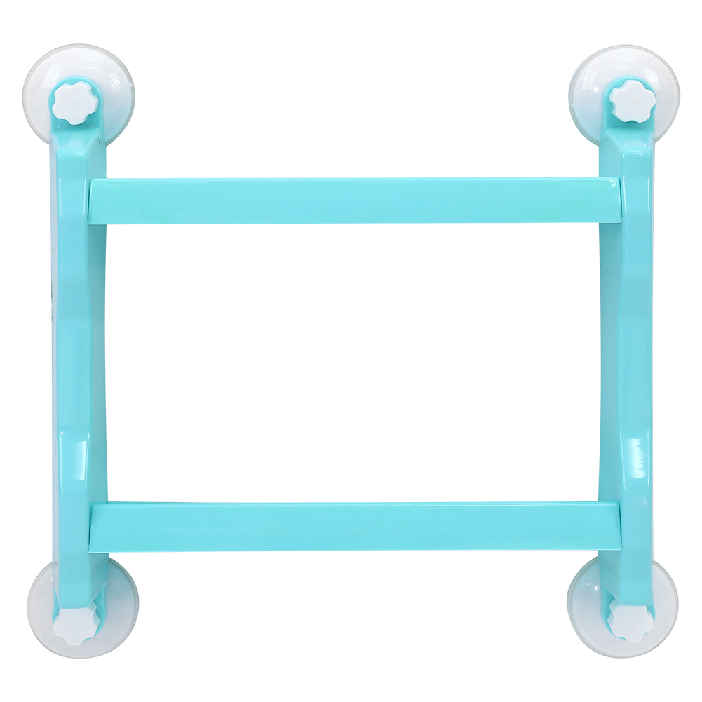 Hanging Shower Storage Shelf Double Tier Superior Strong Suction Cup ...