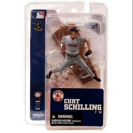 McFarlane MLB Sports Picks 3 Inch Mini Series 3 Curt Schilling Mini Figure