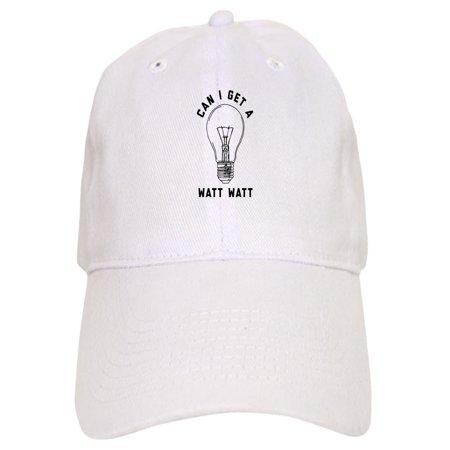 77ab3a9d CafePress - Can I Get A Watt Watt - Printed Adjustable Baseball Cap