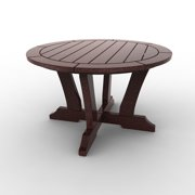 Round Conversation Table by Malibu Outdoor - Laguna, Cherry - 30''
