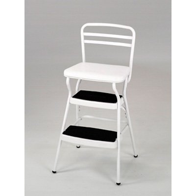Cosco Chair Step Stool with Lift-Up Seat by Cosco Home and Office