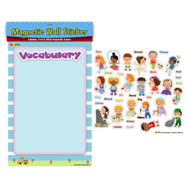 American Educational Products MAG-114 Verbs Magnetic Wall Sticker