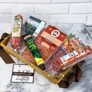 Assortment of Specialty Gourmet Meats in Gift Basket / Package