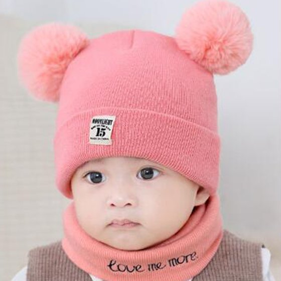 Baby Hats Winter clearance - New Autumn Winter Christmas Hat Baby Boys  Girls Hat Warm Windproof Hat + Scarf Neckerchief - Walmart.com 4c521e3c8be