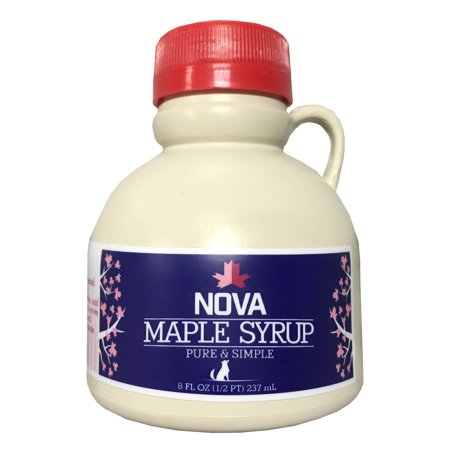 Nova Maple Syrup - Pure Grade-A Maple Syrup (Half Pint) ()