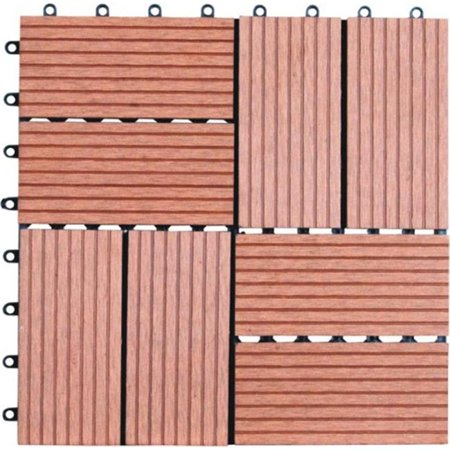 Naturesort N4-OT01 Eight Slats Bamboo Composite DIY Deck Tiles  11 (Best Composite Decking 2019)
