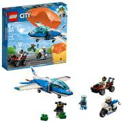 LEGO City Police Sky Police Parachute Arrest 60208 Police Jet Toy