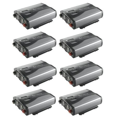 Cobra 1500W 12V DC to 120V AC Car Power Inverter, 3 Outlets and USB (8 (Cobra 1,500w Power Inverter)
