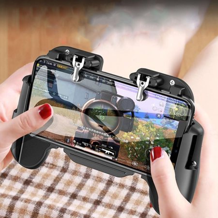 PUBG Mobile Game Controller Gamepad Trigger Aim Button L1R1 Shooter  Joystick For IPhone Android Phone with Cooler Cooling Fan