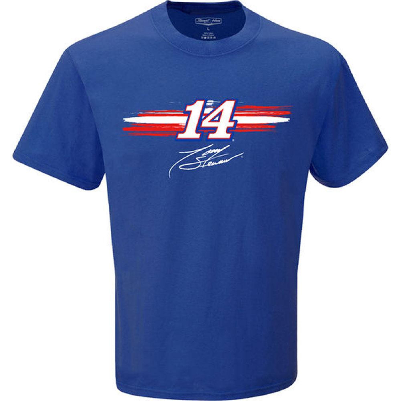 Tony Stewart - 14 Fan Up Adult T-Shirt