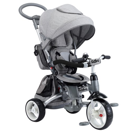 6-in-1 Multi-Trike, Gray