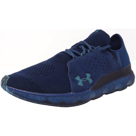 Under Armour Men's Threadborne Reveal Blackout Navy / Marine Blue Ankle-High Fabric Training Shoes -